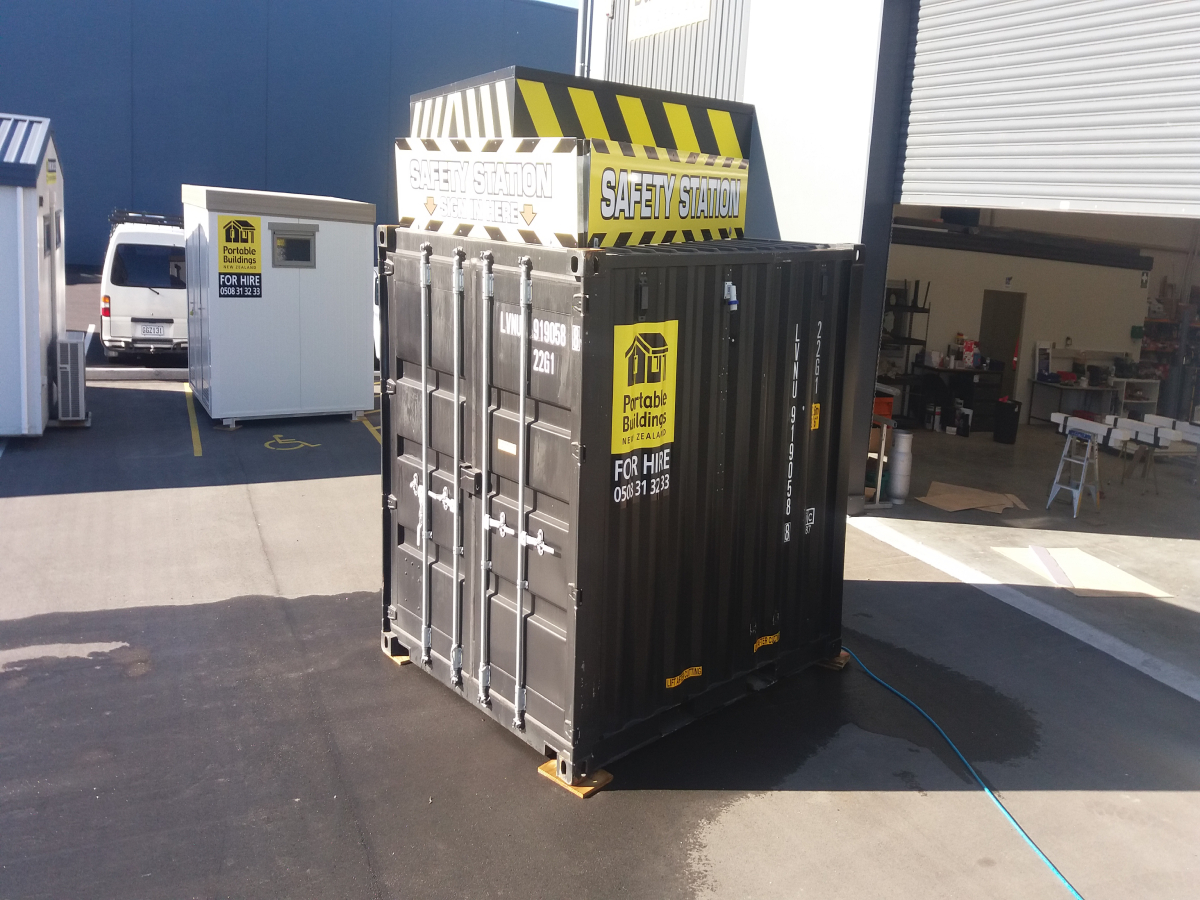 10ft Safety Container