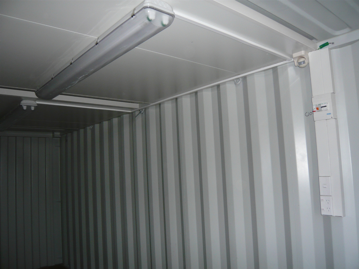 20ft Site Container