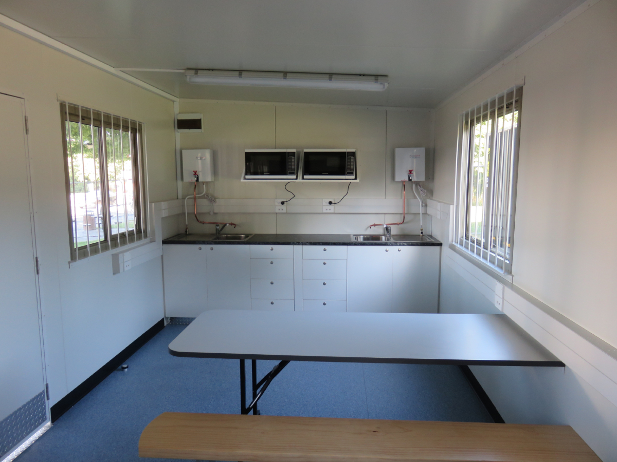 12 x 3m Lunch Room
