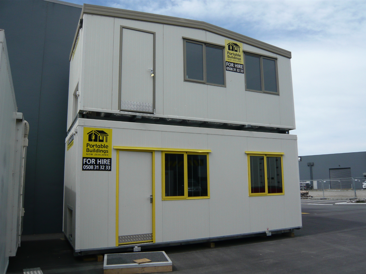 6x3m Site Offices Stacked