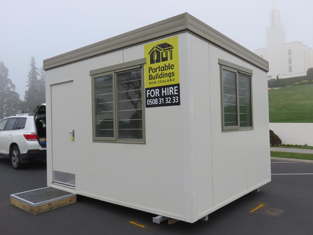 3.6x3m Site Office