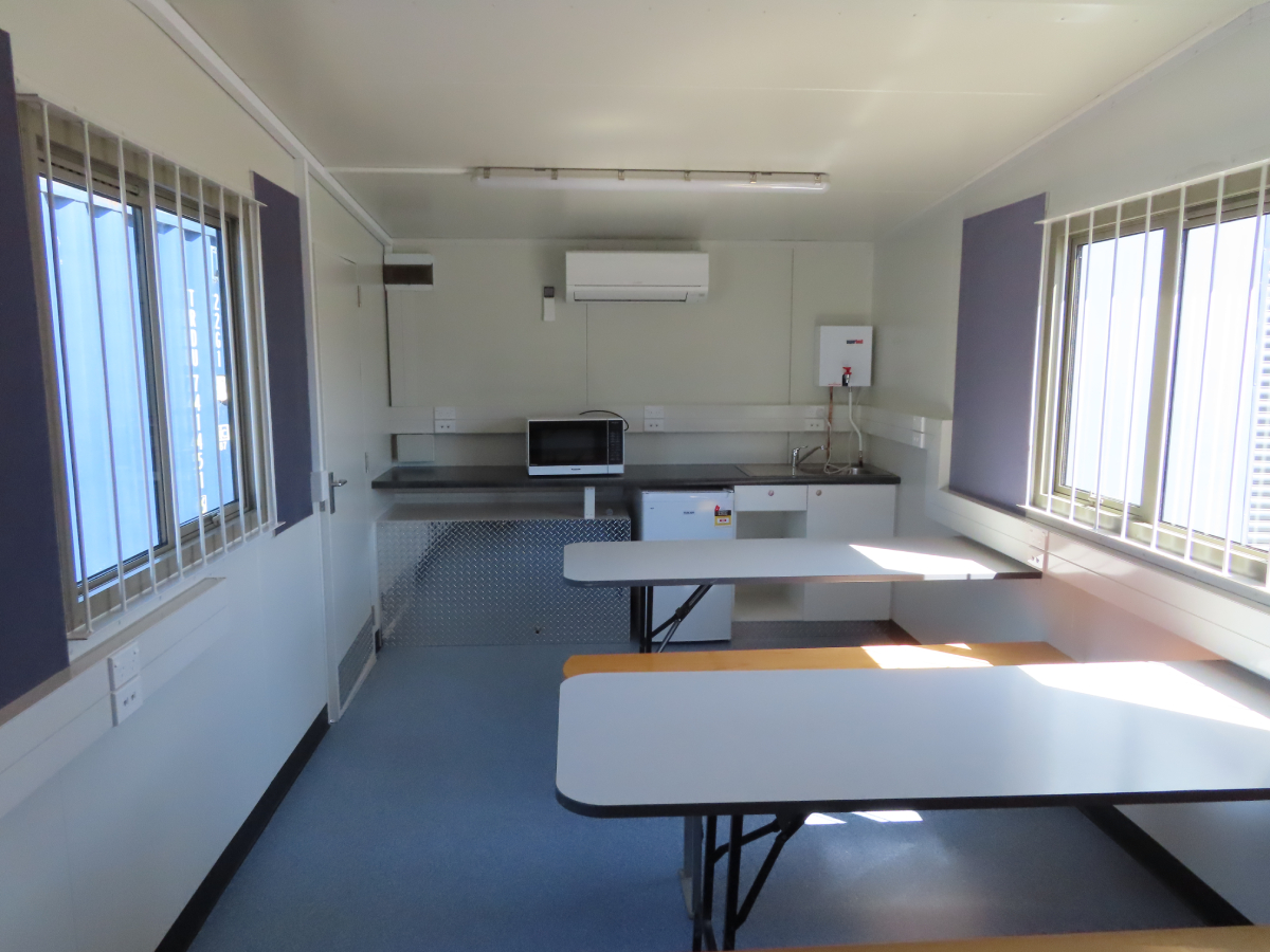 6 x 3m Lunch Room