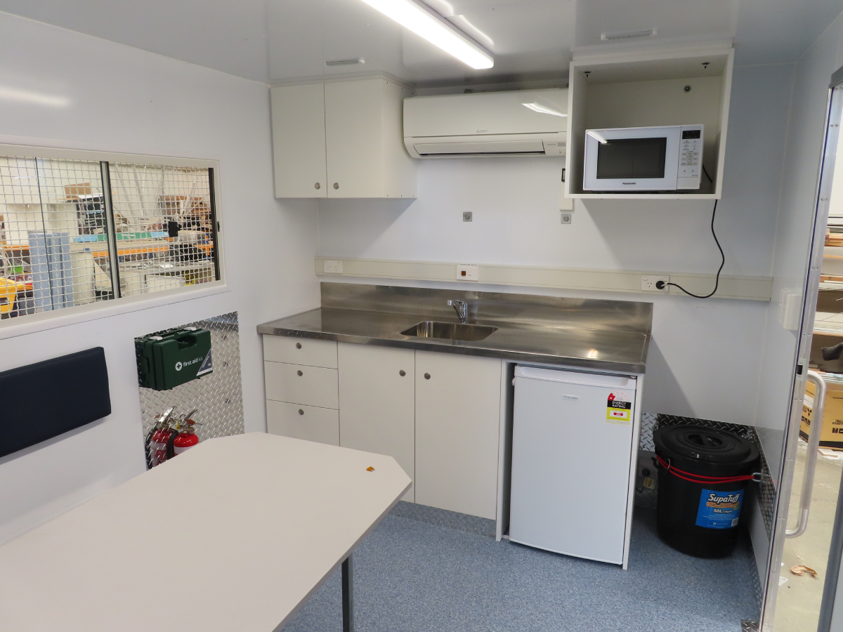 Site Mate Caravan - Kitchen