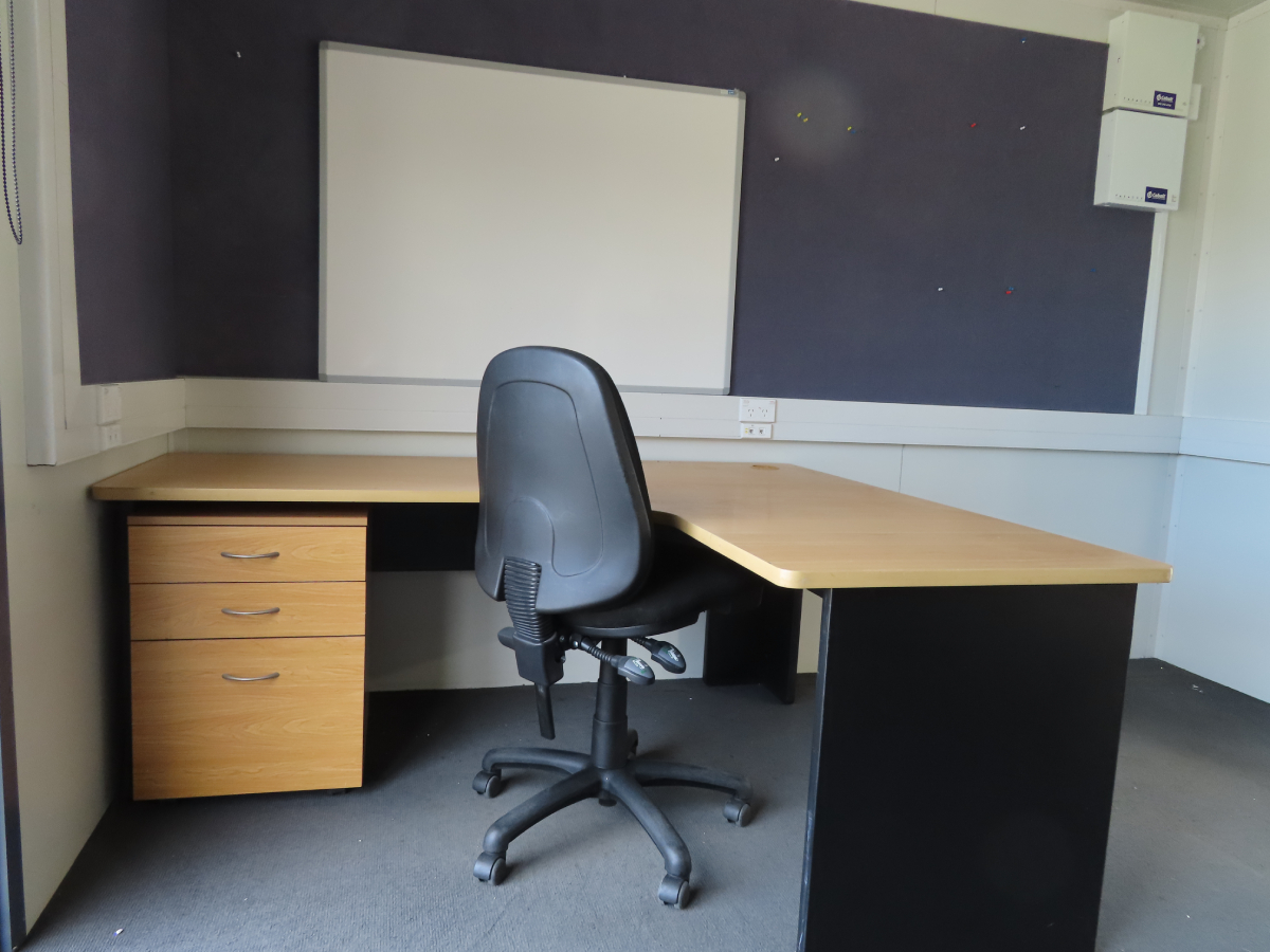 Desks, Office Chairs and Mobile Drawers